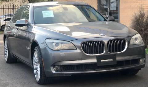 2012 BMW 7 Series for sale at Auto Imports in Houston TX