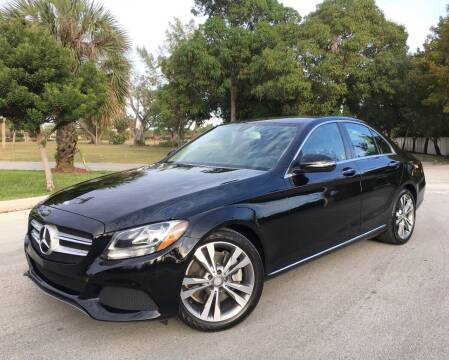 2016 Mercedes-Benz C-Class for sale at FIRST FLORIDA MOTOR SPORTS in Pompano Beach FL