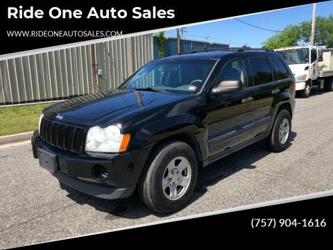2005 Jeep Grand Cherokee for sale at Ride One Auto Sales in Norfolk VA