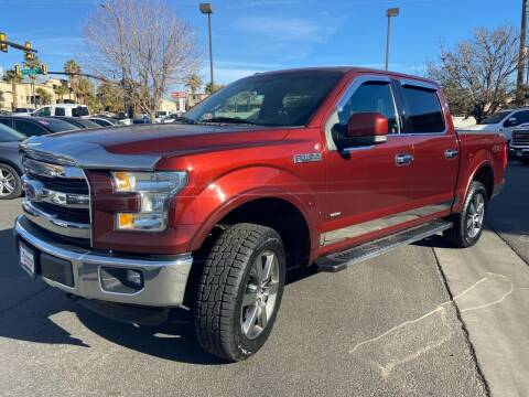 2016 Ford F-150 for sale at Boulevard Motors in St George UT