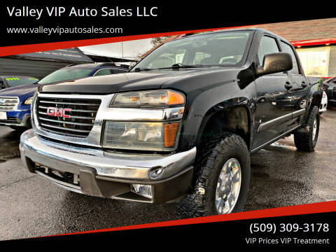 2008 GMC Canyon for sale at Valley VIP Auto Sales LLC in Spokane Valley WA
