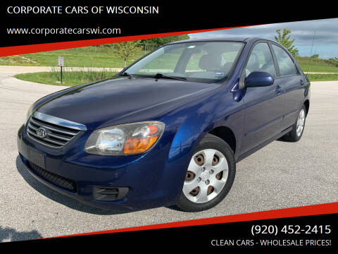 2009 Kia Spectra for sale at CORPORATE CARS OF WISCONSIN - DAVES AUTO SALES OF SHEBOYGAN in Sheboygan WI