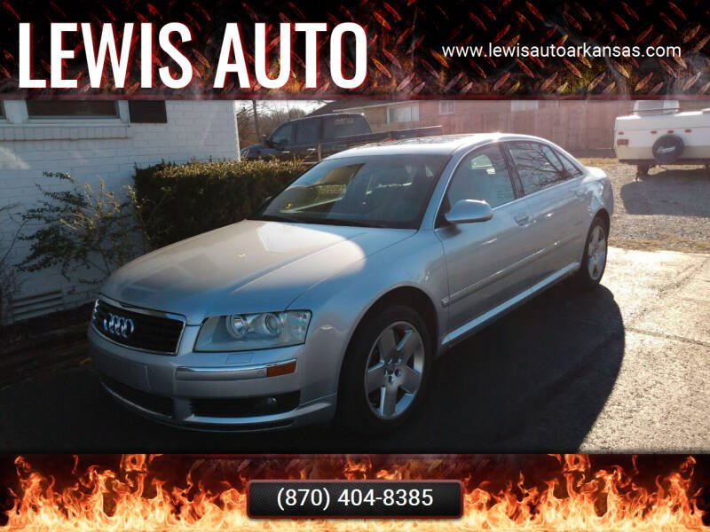 2004 Audi A8 L for sale at LEWIS AUTO in Mountain Home AR