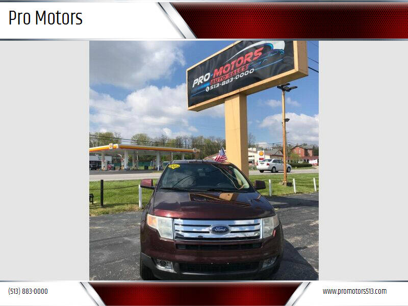 2009 Ford Edge for sale at Pro Motors in Fairfield OH