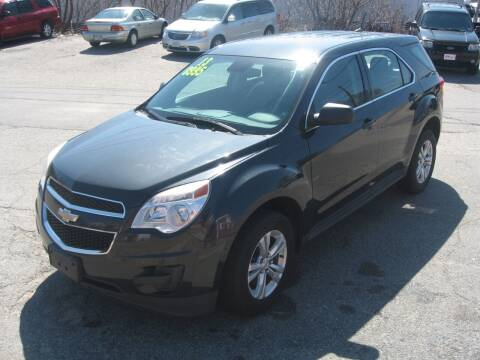 2013 Chevrolet Equinox for sale at Joks Auto Sales & SVC INC in Hudson NH