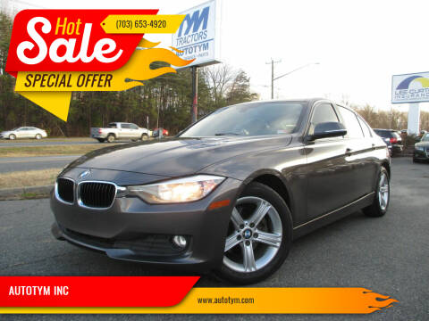 2014 BMW 3 Series for sale at AUTOTYM INC in Fredericksburg VA