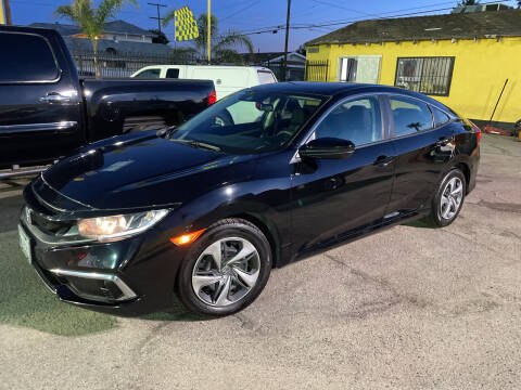 2019 Honda Civic for sale at JR'S AUTO SALES in Pacoima CA