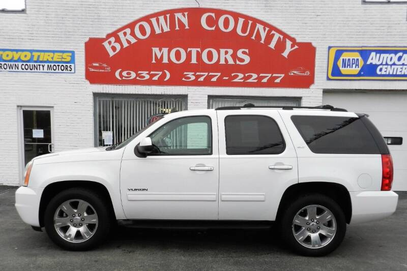 2011 GMC Yukon for sale at Brown County Motors in Russellville OH