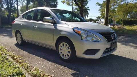 2019 Nissan Versa for sale at DELRAY AUTO MALL in Delray Beach FL