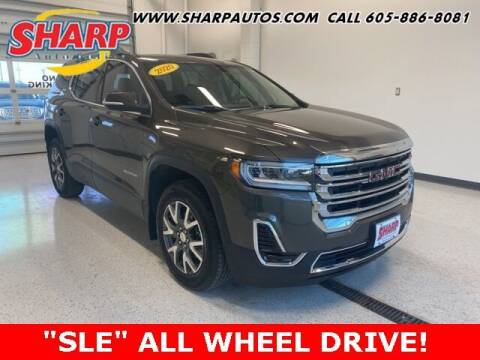 2020 GMC Acadia for sale at Sharp Automotive in Watertown SD
