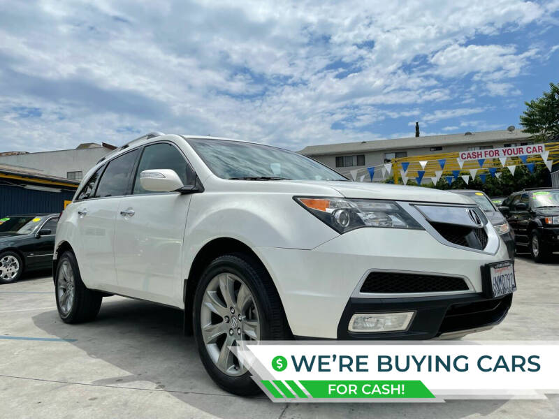 2010 Acura MDX for sale at FJ Auto Sales North Hollywood in North Hollywood CA