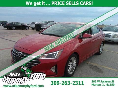 2019 Hyundai Elantra for sale at Mike Murphy Ford in Morton IL