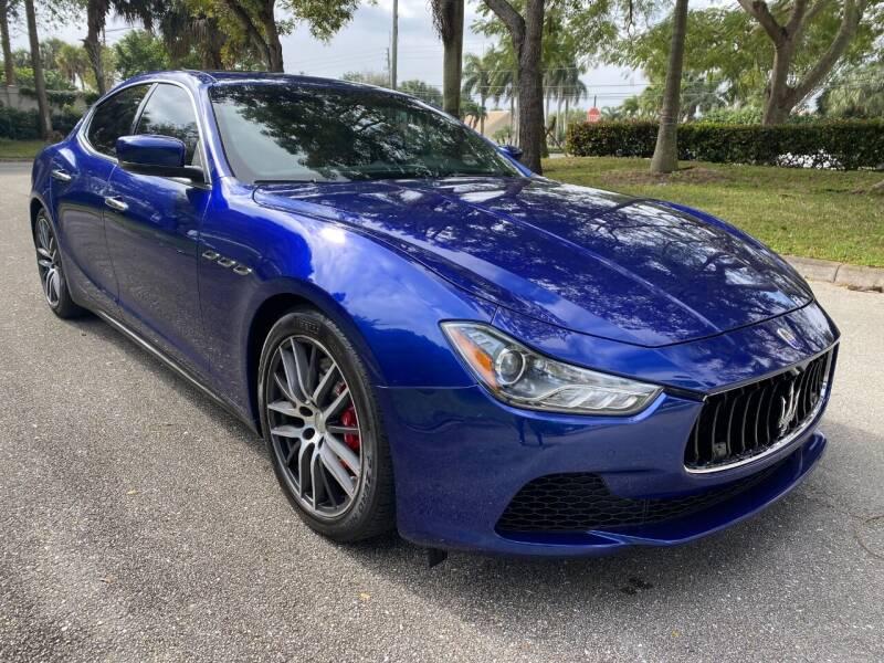 2015 Maserati Ghibli for sale at DELRAY AUTO MALL in Delray Beach FL