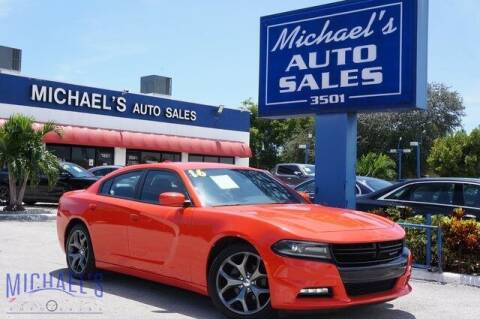 2016 Dodge Charger for sale at Michael's Auto Sales Corp in Hollywood FL