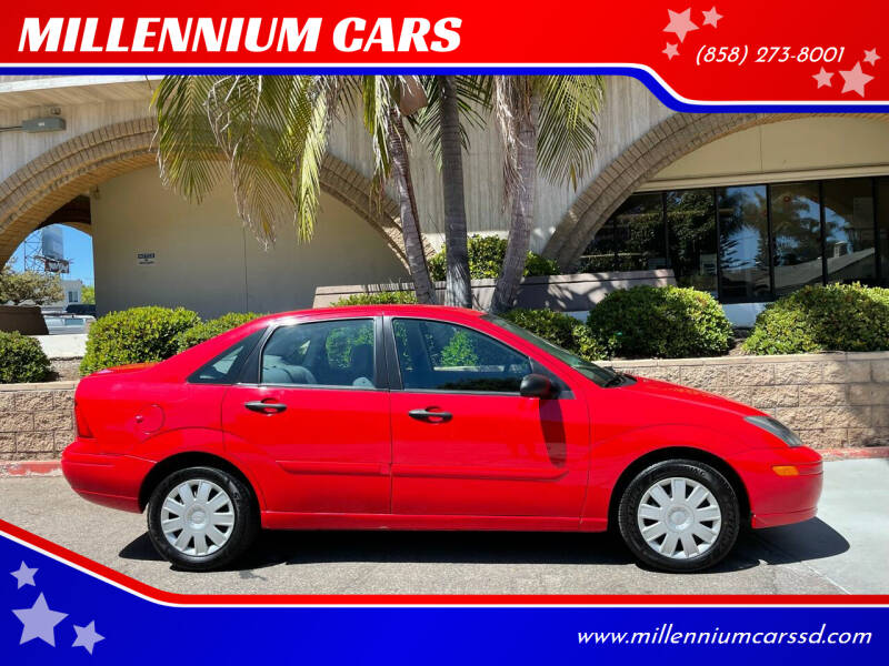2004 Ford Focus for sale at MILLENNIUM CARS in San Diego CA