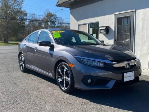 2017 Honda Civic for sale at Vantage Auto Group in Tinton Falls NJ