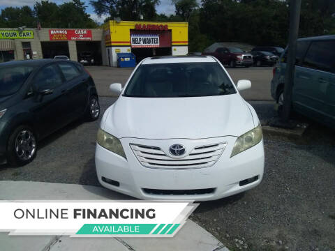 2007 Toyota Camry for sale at Marino's Auto Sales in Laurel DE