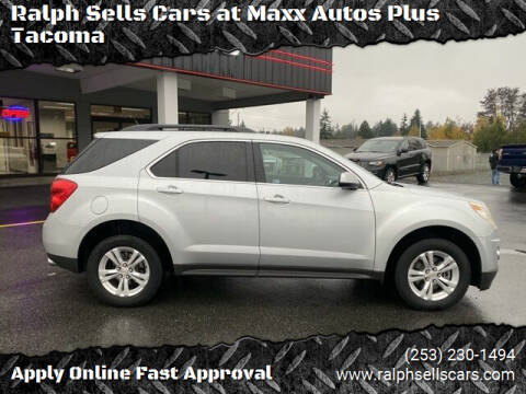 2012 Chevrolet Equinox for sale at Ralph Sells Cars at Maxx Autos Plus Tacoma in Tacoma WA