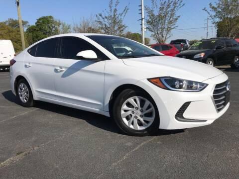 2017 Hyundai Elantra for sale at Town Square Motors in Lawrenceville GA