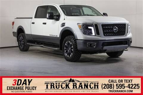 2016 Nissan Titan XD for sale at Truck Ranch in Twin Falls ID