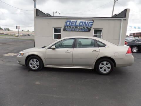 2009 Chevrolet Impala for sale at DeLong Auto Group in Tipton IN