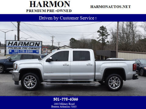 2017 GMC Sierra 1500 for sale at Harmon Premium Pre-Owned in Benton AR