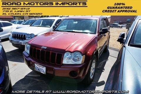 2007 Jeep Grand Cherokee for sale at Road Motors Imports in El Cajon CA