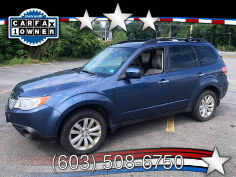 2013 Subaru Forester for sale at J & E AUTOMALL in Pelham NH