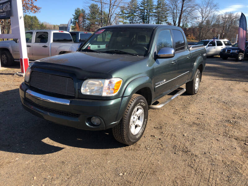 2005 Toyota Tundra for sale at Winner's Circle Auto Sales in Tilton NH