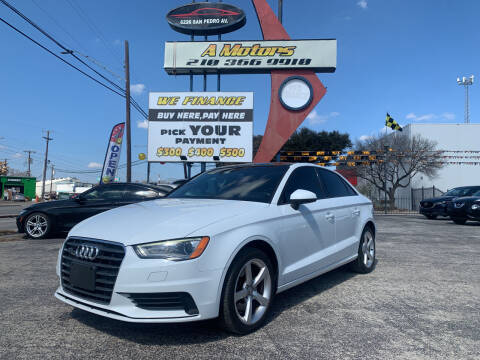2015 Audi A3 for sale at A MOTORS SALES AND FINANCE - 6226 San Pedro Lot in San Antonio TX