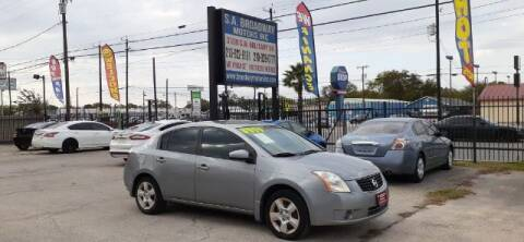 2008 Nissan Sentra for sale at S.A. BROADWAY MOTORS INC in San Antonio TX