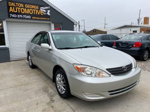 2003 Toyota Camry for sale at Dalton George Automotive in Marietta OH