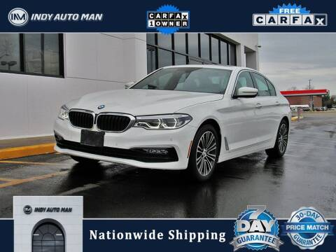 2017 BMW 5 Series for sale at INDY AUTO MAN in Indianapolis IN