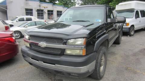 2003 Chevrolet Silverado 2500HD for sale at Auto Outlet of Morgantown in Morgantown WV