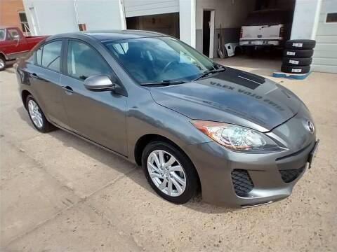 2012 Mazda MAZDA3 for sale at Apex Auto Sales in Coldwater KS