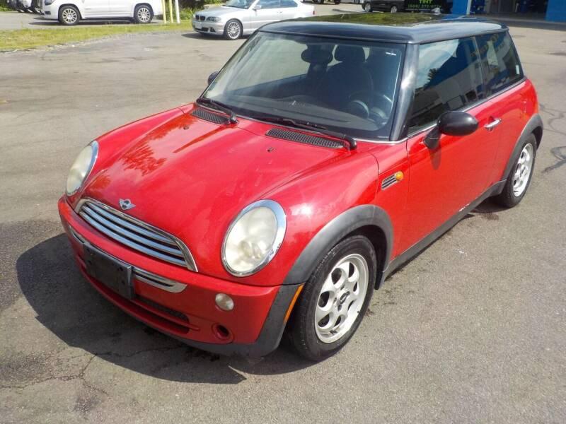 2005 MINI Cooper for sale at RTE 123 Village Auto Sales Inc. in Attleboro MA