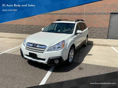 2014 Subaru Outback for sale at KI Auto Body and Sales in Lino Lakes MN