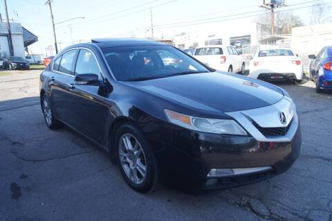 2010 Acura TL for sale at Green Ride Inc in Nashville TN