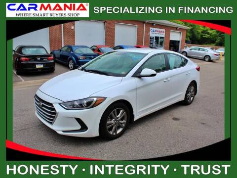 2017 Hyundai Elantra for sale at CARMANIA LLC in Chesapeake VA