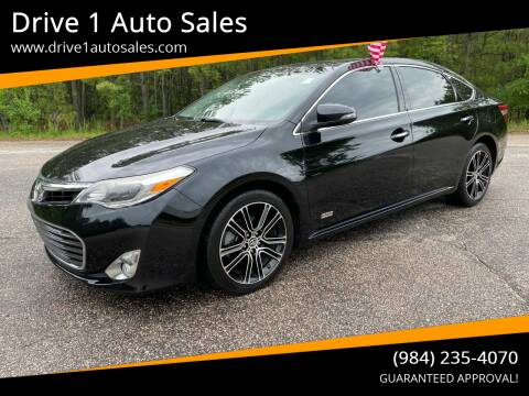2015 Toyota Avalon for sale at Drive 1 Auto Sales in Wake Forest NC