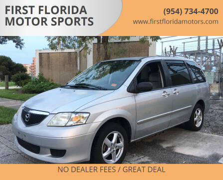 2003 Mazda MPV for sale at FIRST FLORIDA MOTOR SPORTS in Pompano Beach FL