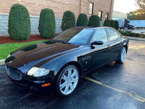 2007 Maserati Quattroporte for sale at R & I Auto in Lake Bluff IL