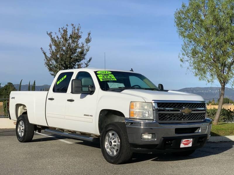 2011 Chevrolet Silverado 2500HD for sale at Esquivel Auto Depot in Rialto CA