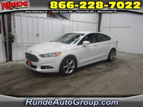 2013 Ford Fusion for sale at Runde Chevrolet in East Dubuque IL