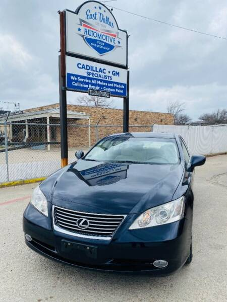 2007 Lexus ES 350 for sale at East Dallas Automotive in Dallas TX