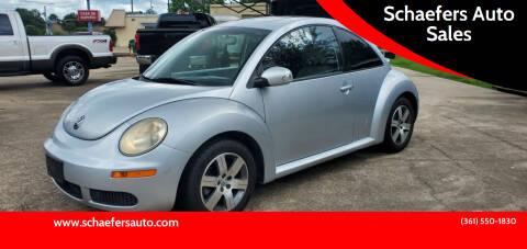 2006 Volkswagen New Beetle for sale at Schaefers Auto Sales in Victoria TX