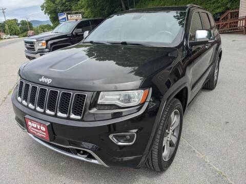 2014 Jeep Grand Cherokee for sale at AUTO CONNECTION LLC in Springfield VT