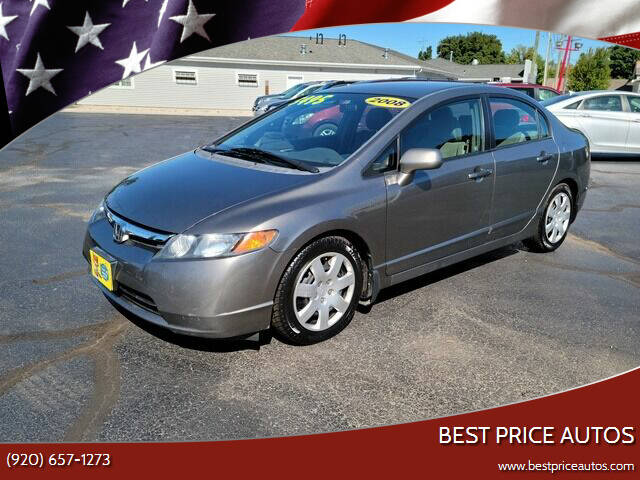 2008 Honda Civic for sale at Best Price Autos in Two Rivers WI