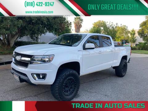 2016 Chevrolet Colorado for sale at Trade In Auto Sales in Van Nuys CA