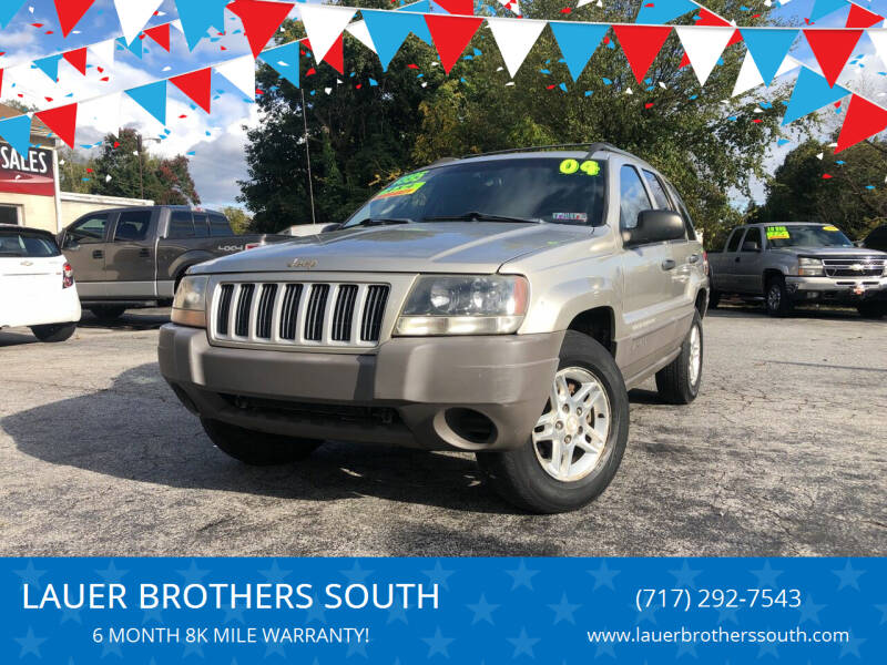 2004 Jeep Grand Cherokee for sale at LAUER BROTHERS SOUTH in York PA
